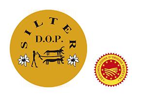 Logo Consorzio Formaggio Silter con Dop